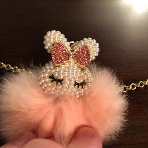 Cute little bunny necklace